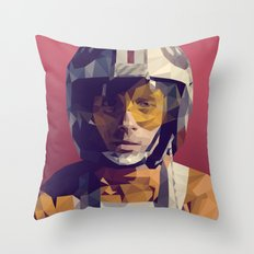 Red Five (Luke) Throw Pillow