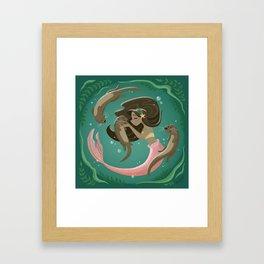 Otterly Adorable Framed Art Print