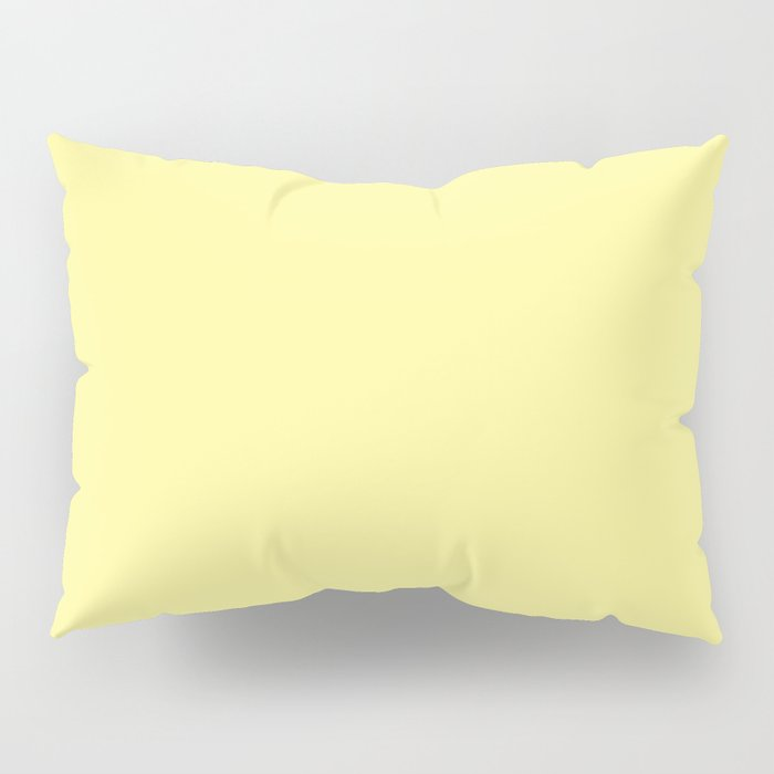 Simply Pastel Yellow Pillow Sham