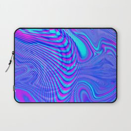 GLITCH MOTION WATERCOLOR OIL Laptop Sleeve