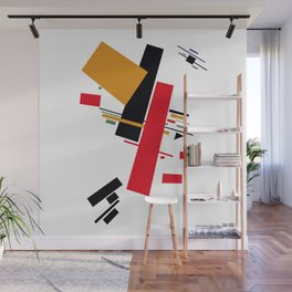 Geometric Abstract Malevic #13 Wall Mural