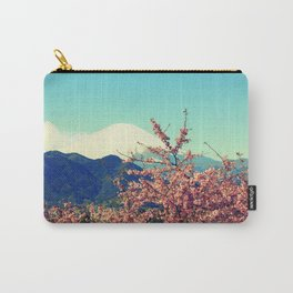 Mountains & Flowers Landscape Carry-All Pouch