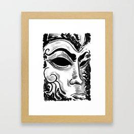 Dream of the Mask Framed Art Print