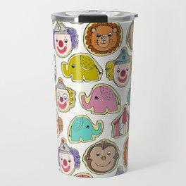 circus cookies multi Travel Mug