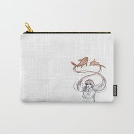 Inner Thoughts V Carry-All Pouch