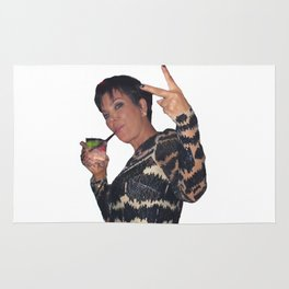 Peace Out Kris Jenner Rug