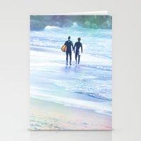 boys Stationery Cards featuring Surfer Boys by Teresa Chipperfield Studios