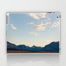 Glacier Mountains at Sunset Laptop & iPad Skin