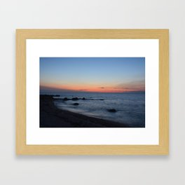 Greenport Sunset Framed Art Print