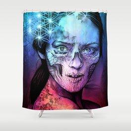 Death's Bride Shower Curtain