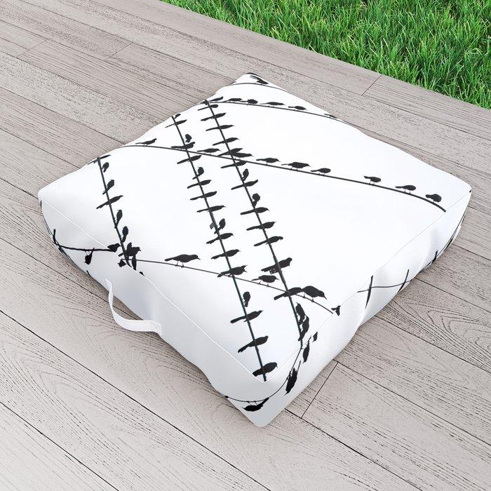 The Grackles Outdoor Floor Cushion