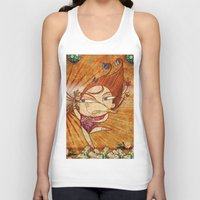 couple Tank Tops featuring Couple by José Luis Guerrero