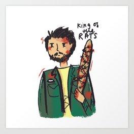King of the Rats Art Print