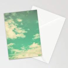 Sky (Nature Vintage and Retro Photography)  Stationery Cards