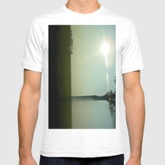 i dreamt i drove there (part b) MEDIUM White Mens Fitted Tee