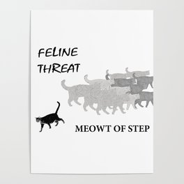 Meowt of Step Poster
