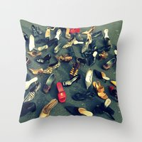 sale Throw Pillows featuring Sale by Irène Sneddon