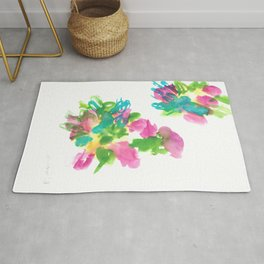180802 Beautiful Rejection  1| Colorful Abstract Rug