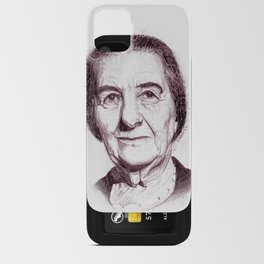 Golda Meir iPhone Card Case