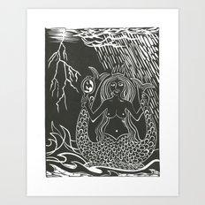 Melusine Art Print