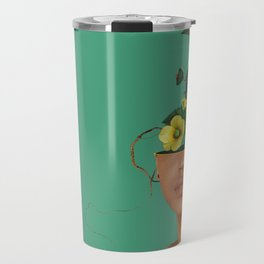 Lady Flowers VII Travel Mug