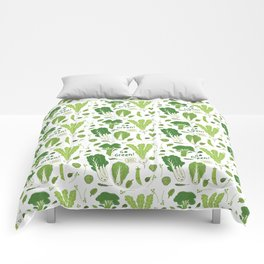 Go Green! Leafy Green! Comforters