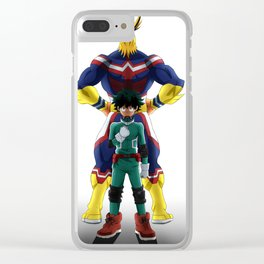 My Hero Academia Clear iPhone Case