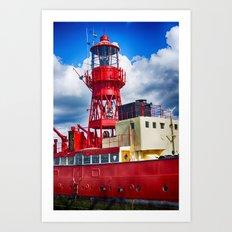 Lightship LV15 Trinity Art Print