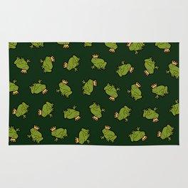 Frog Prince Pattern Rug