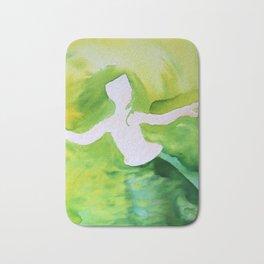 Green Woman Bath Mat