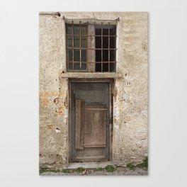 Door number thirteen (13) Canvas Print