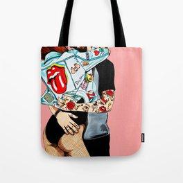 Love rock n' roll Tote Bag
