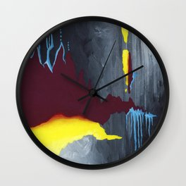 Inside Crystal Mountain Wall Clock