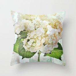 Whitish Throw Pillow