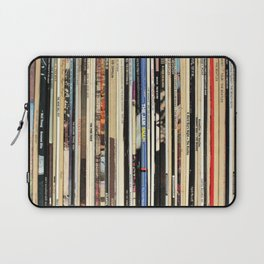 Classic Rock Vinyl Records Laptop Sleeve