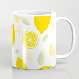 Lemon Blossom Coffee Mug