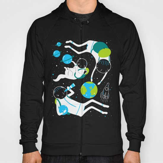 A Day Out In Space - Black Hoody