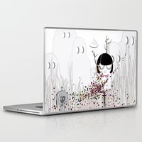 i want to believe Laptop & iPad Skins featuring I WANT TO BELIEVE by Agente Morillas