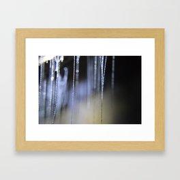 Glow Worms Framed Art Print