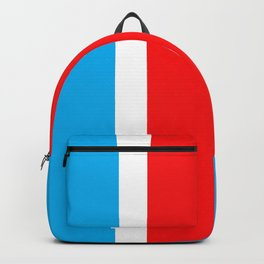 TEAM COLORS 10...RED , WHITE LIGHT BLUE Backpack