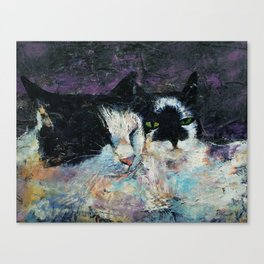 Two Cats Canvas Print