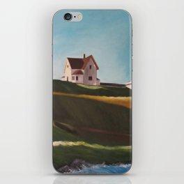 Edward Hopper homage iPhone Skin