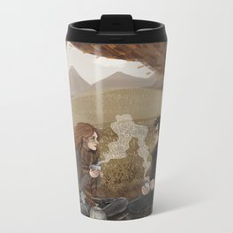 Lily and James, Autumn Picnic Metal Travel Mug