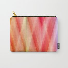 Zig Zag pattern soft Carry-All Pouch