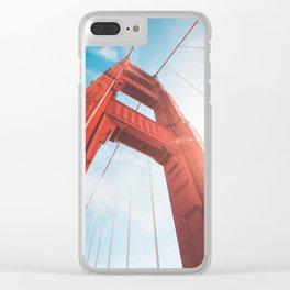 Golden Gate Bridge Clear iPhone Case