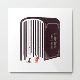 Little Red Riding Hood Metal Print