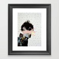 Silence Yourself Framed Art Print
