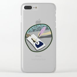 Shakespeare's Autograph Clear iPhone Case