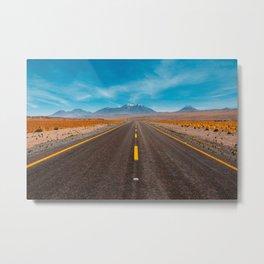 Incredible american road Metal Print