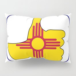 Thumbs Up New Mexico Pillow Sham